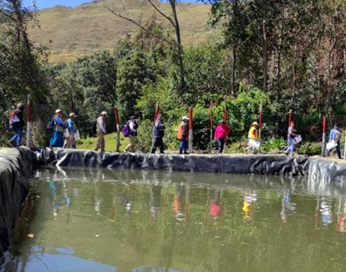 Sensibilización para la conservación del recurso hídrico - Proyecto Forfagro