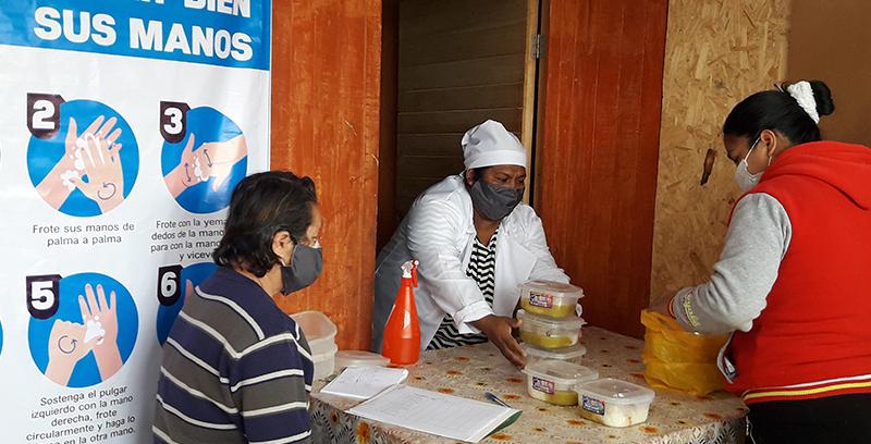 Ollas comunes, una alternativa para disminuir el hambre en familias afectadas por el Covid-19 en Lima-Perú