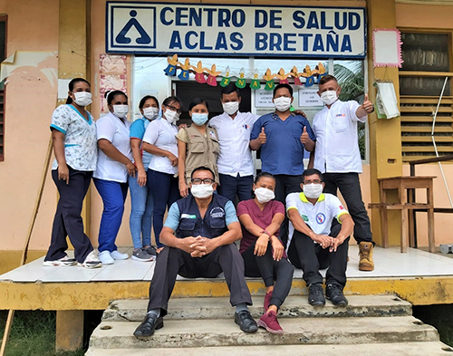 Fortalecimiento de la respuesta de atención médica de la Micro-Red Bretaña en el contexto de la pandemia COVID-19