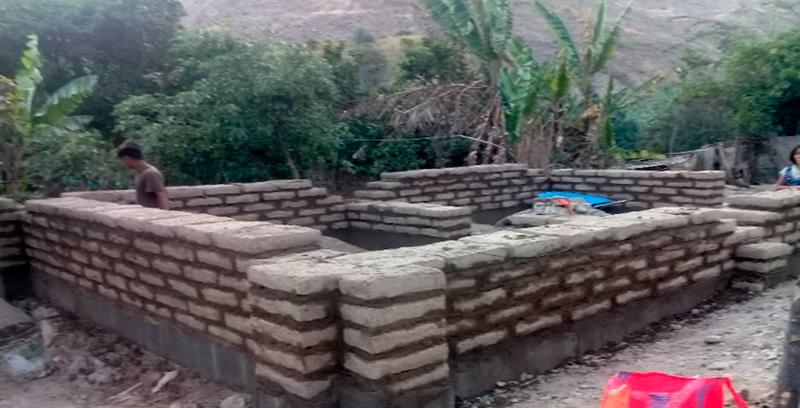 Viviendas para el restablecimiento de una vida normal y digna en Malvas, provincia de Huarmey – Ancash
