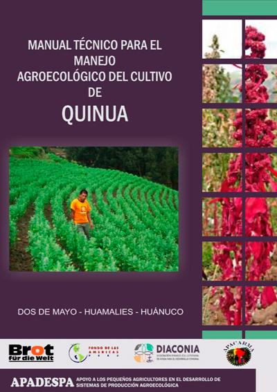 Manual Técnico para el Manejo Agroecológico del Cultivo de Quinua