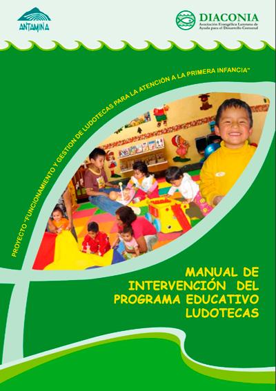 Manual de intervención del programa educativo de ludotecas